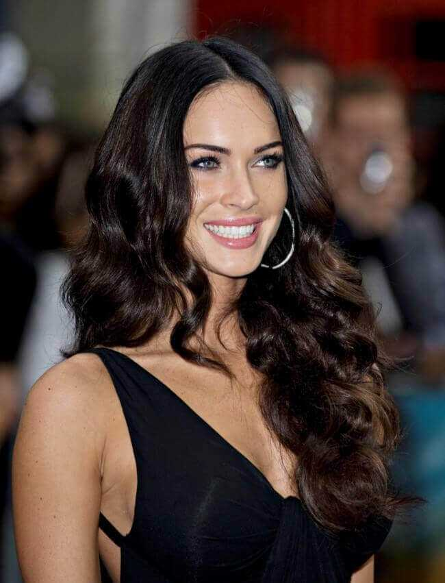 Megan Fox with Hair Extensions