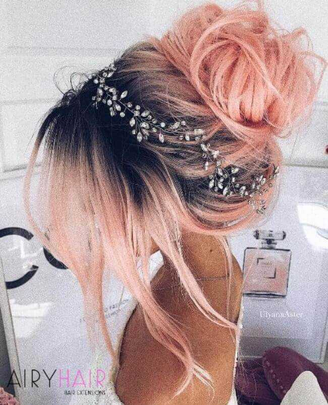 Bohemian hairstyle w extensions