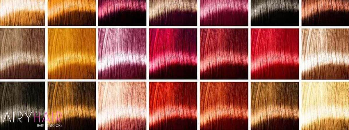 Hair Wigs with Colors
