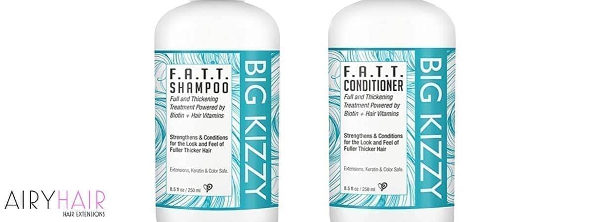 The Big Kizzy F.A.T.T Biotin Shampoo & Conditioner Set