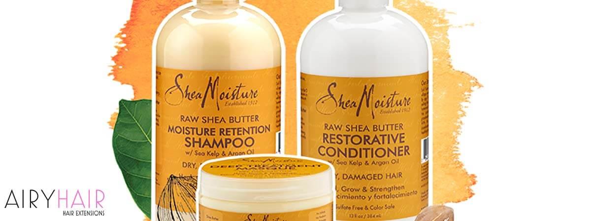 Raw Shea Butter Moisture Retention Shampoo and Restorative Conditioner