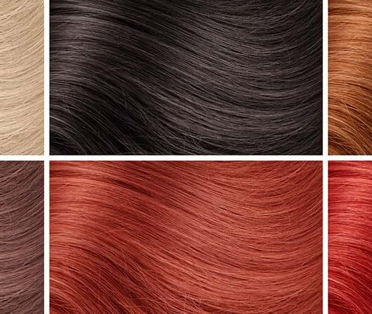 Complete Colored Hair Extensions & Dyeing Color Chart / Palette Guide (2021)