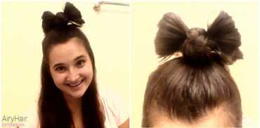 Step by Step: How to Do a Half-Up Hair Bow