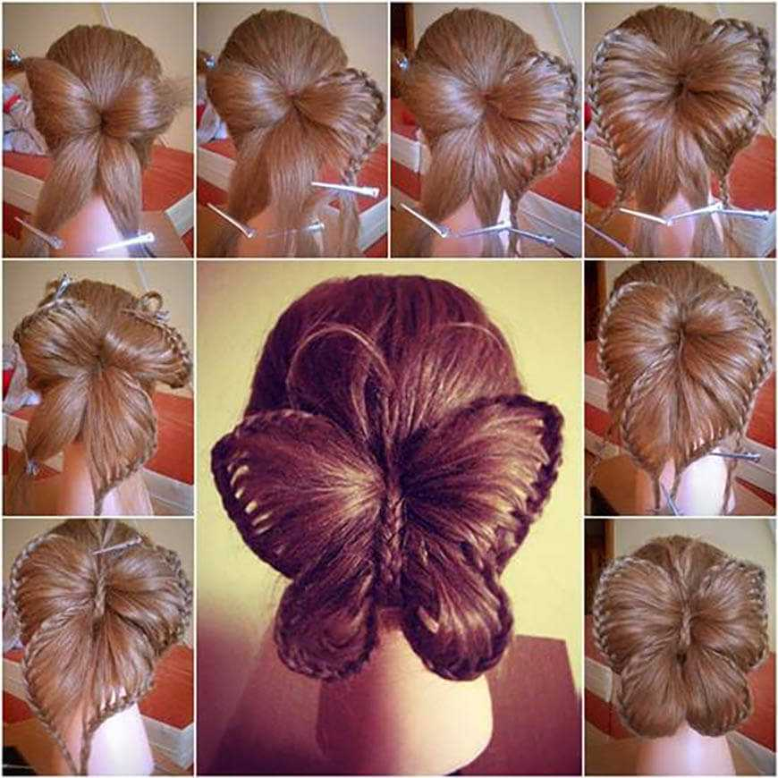 Step By Step Butterfly Braid Hairstyle