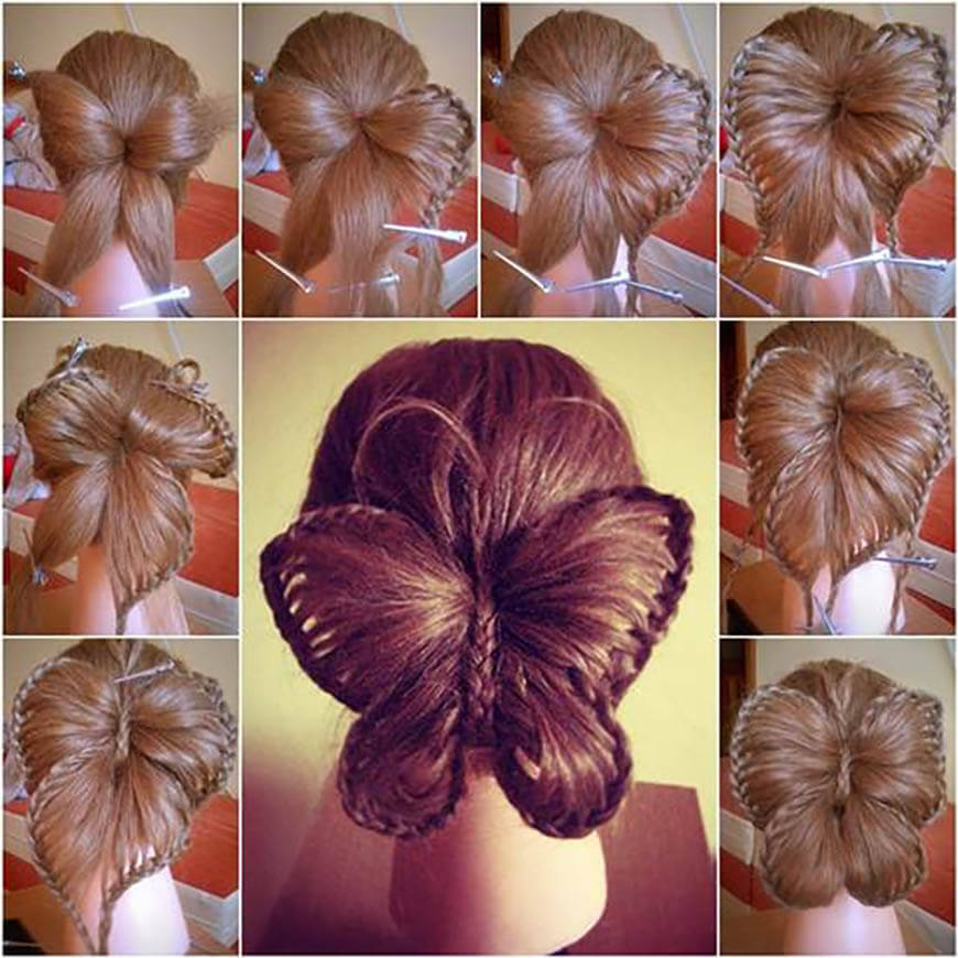 Step By Step: Butterfly Braid Hairstyle