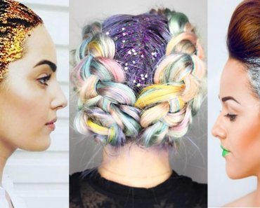 glitter-hairstyle