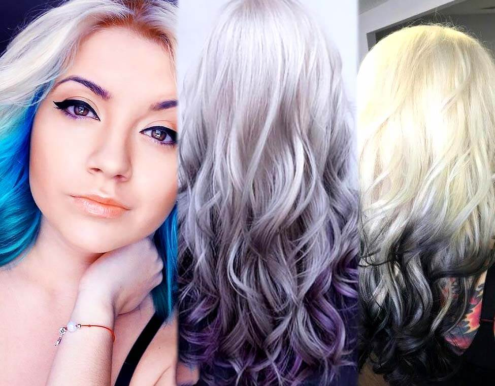 10+ Best White Ombré Hairstyle Ideas for Hair Extensions - photo #41