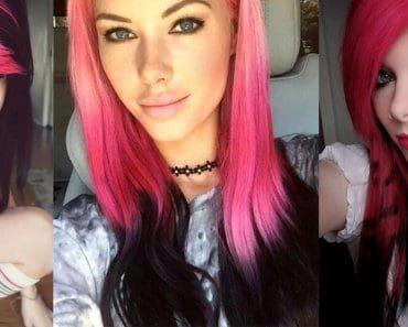pink-black