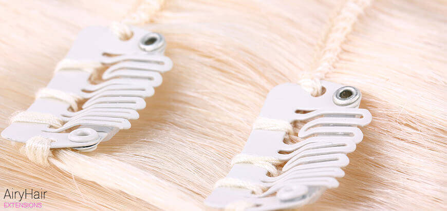 Soft hair clips package picture