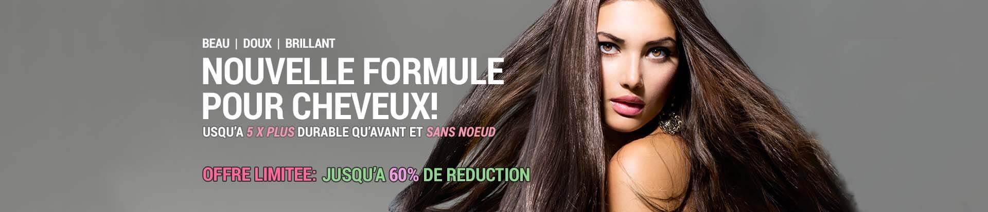Extensions en cheveux naturels