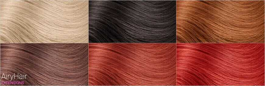 Human Hair Color Options