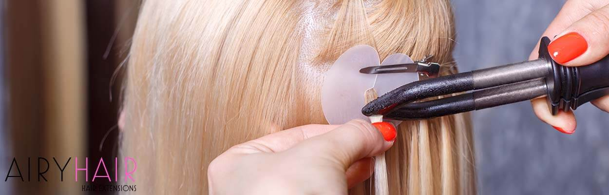 Heat Wand Clamp and Ultrasonic Machine for Fusion Hair Extensions