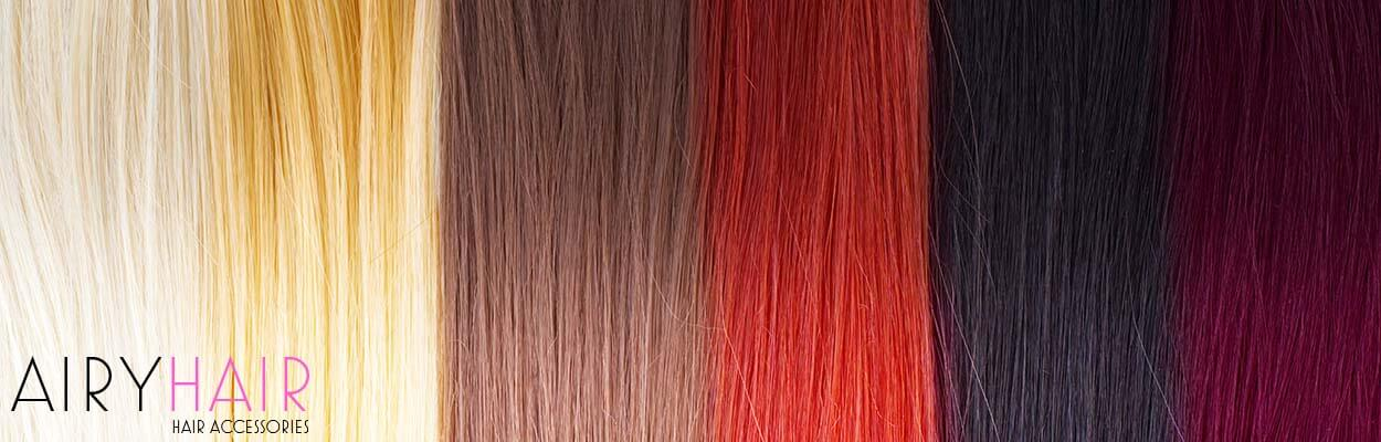 Hair Extensions Color Palette Chart