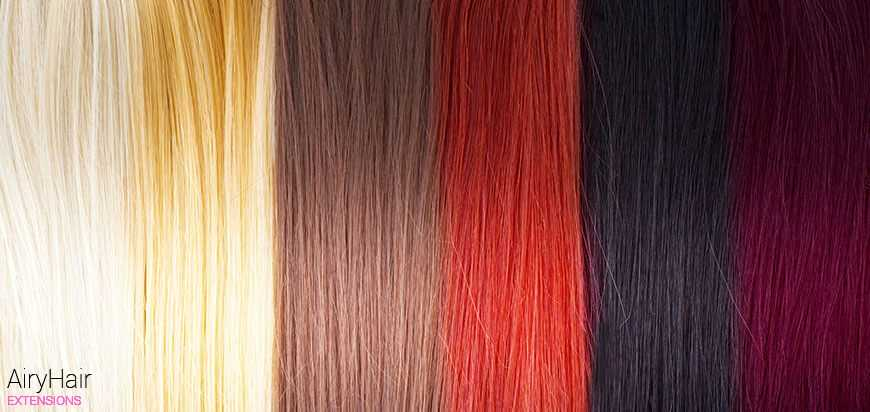 Hair Extensions Pallet Chart