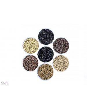 Silicone / Copper / Aluminium Micro Rings Links / Beads