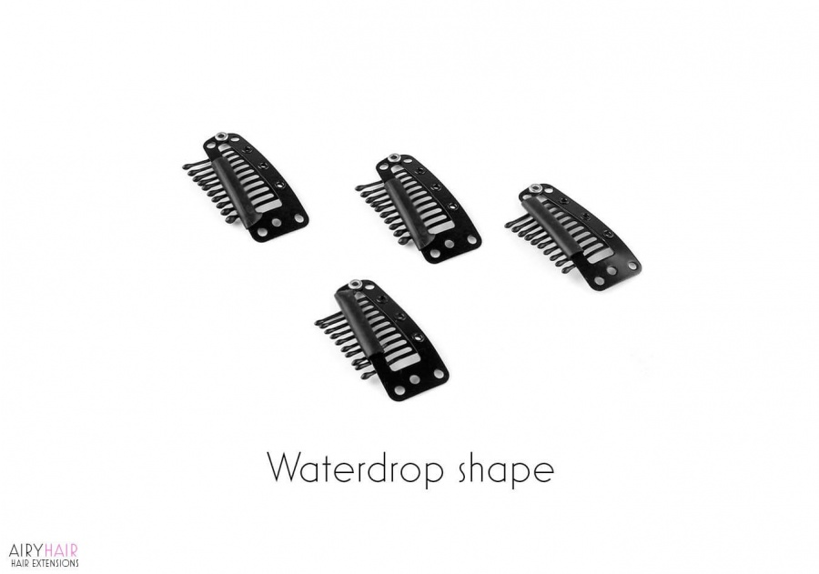 Metal Hair Clips for Clip-in Hair Extensions