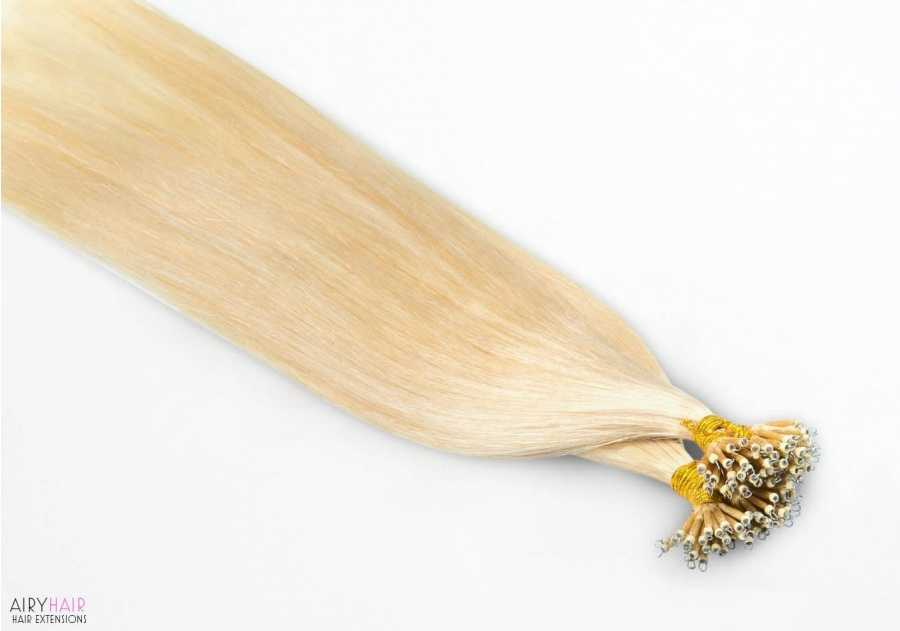Nano (Metal) Ring, I-Tip Hair Extensions