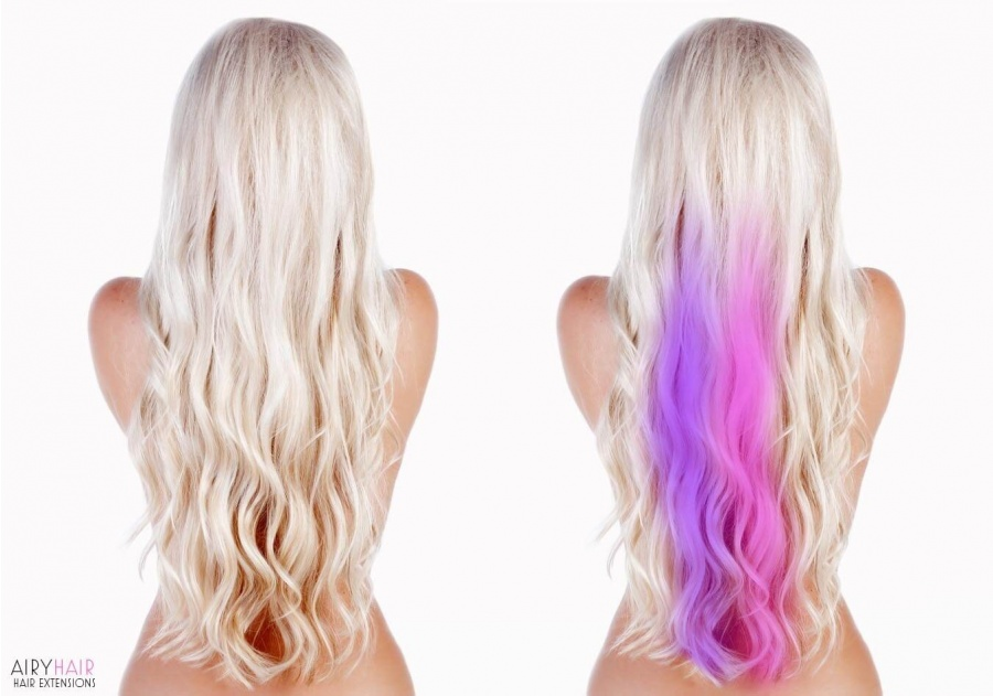 Party Hair Extensions: Clip-in Highlights
