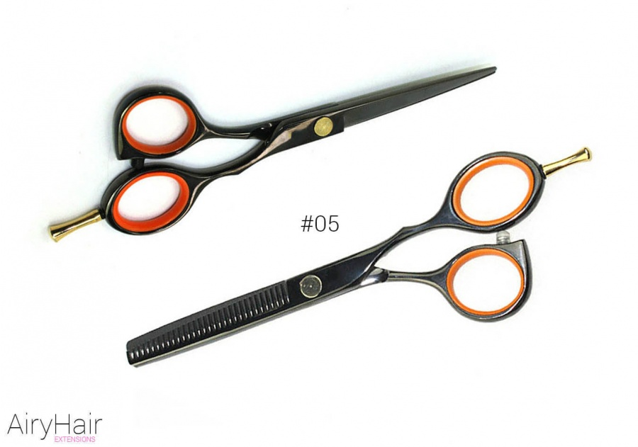 #05 - Professional Hair Cutting and Thinning Scissors