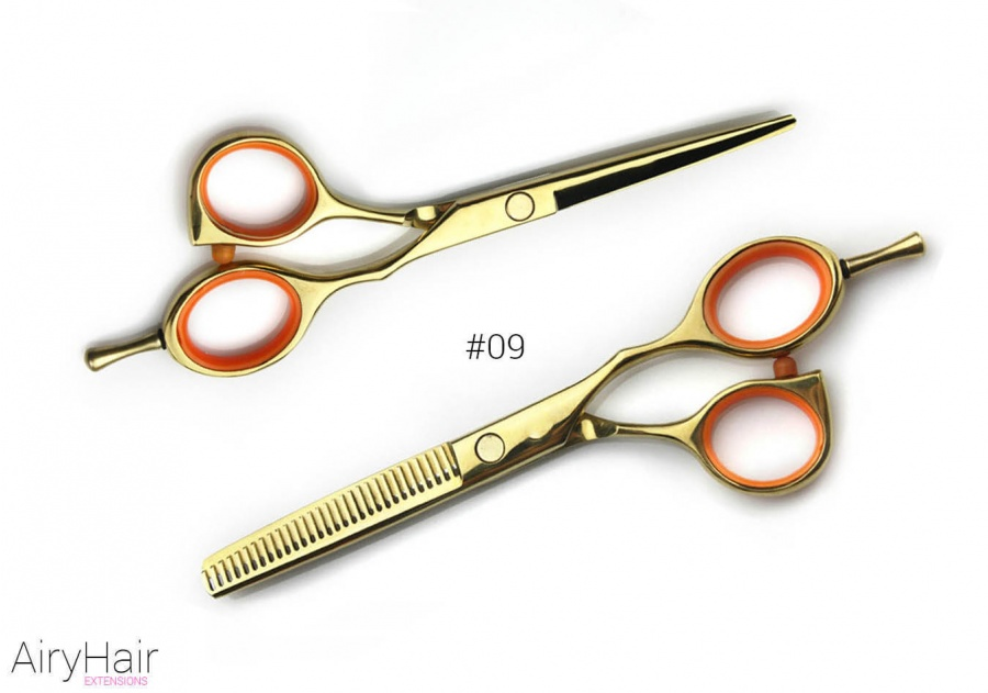 #09 - Professional Hair Cutting and Thinning Scissors
