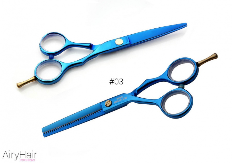#03 - Professional Hair Cutting and Thinning Scissors