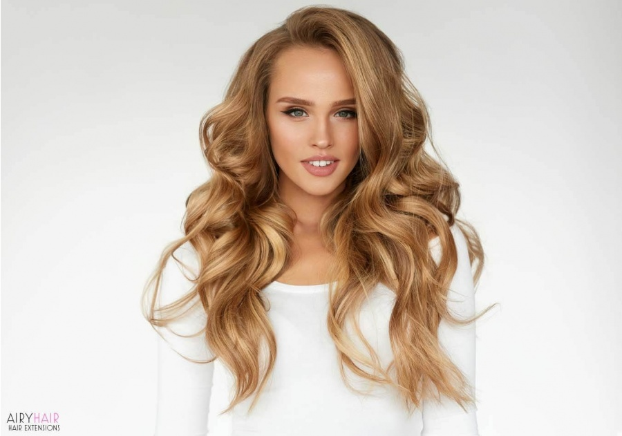 Easy to Apply Wavy Clip-in Hair Extensions