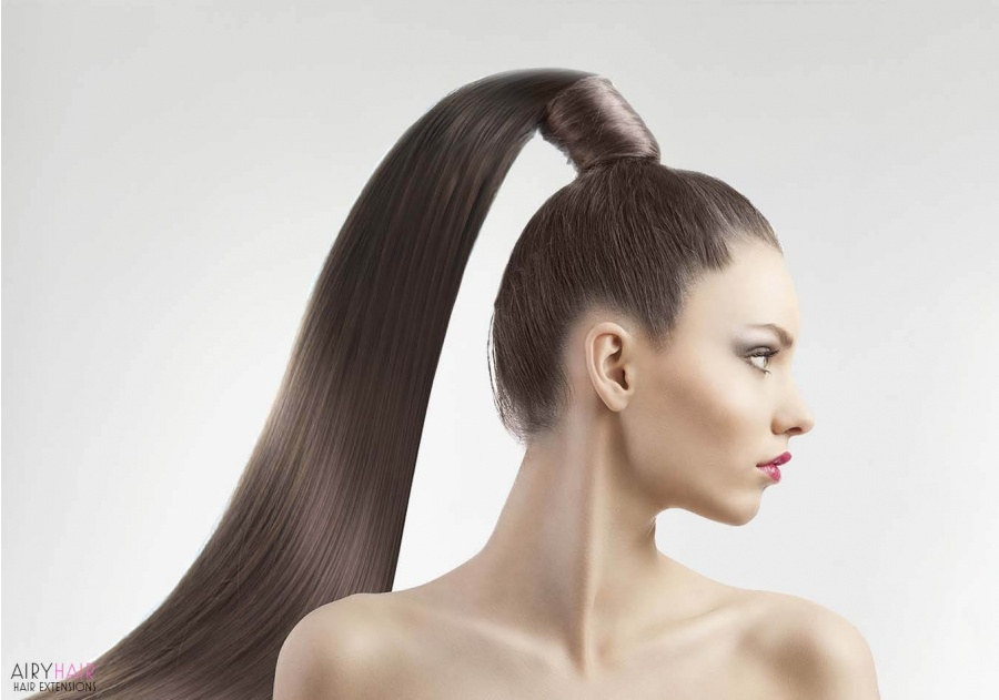 Wrap Ponytail Hair Extensions