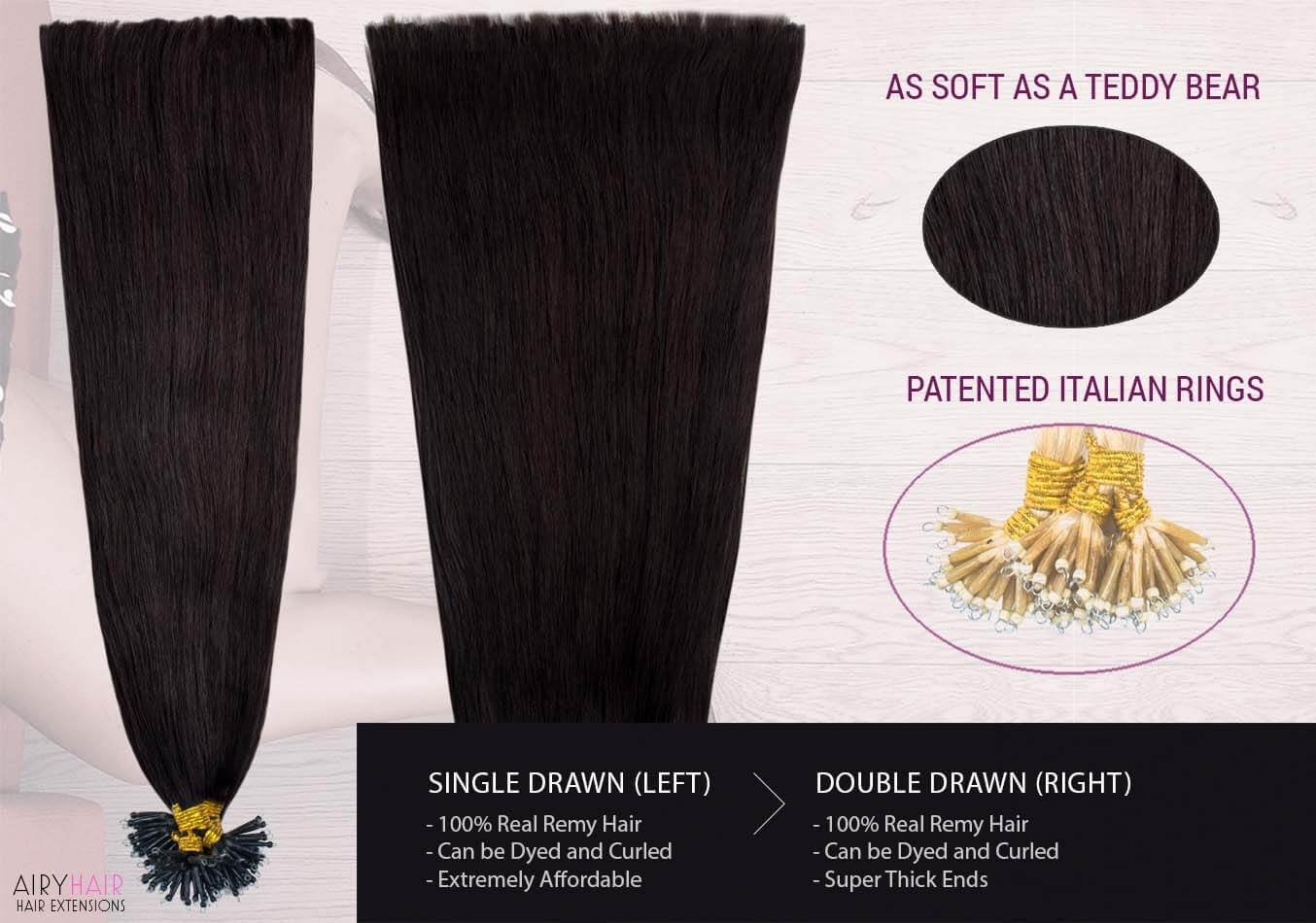 Buy Cheap Nano Tip Ring Hair Extensions