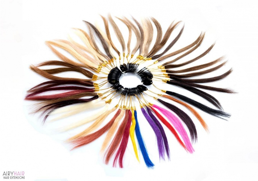 100% Human Hair Color Ring (43 Kleuren)