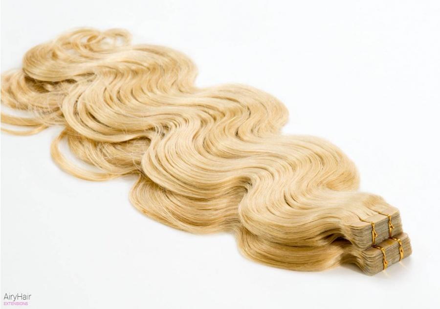 Remy Tape In Priklijuojami Plaukų Tresai