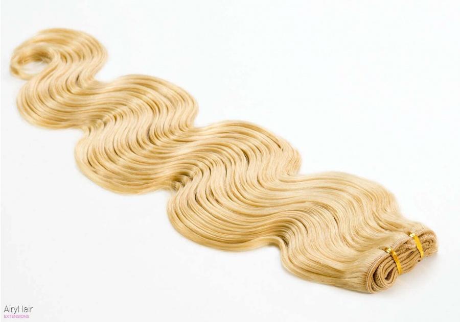 Braziliški Prisiuvami Remy Plaukų Tresai