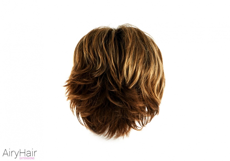 Clip-In Real Human Hair Wig / Fringe