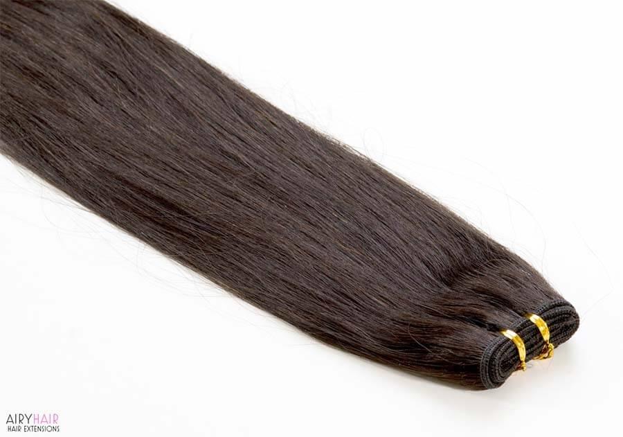 Remy Clip In Haarverlängerungen (Glatt)