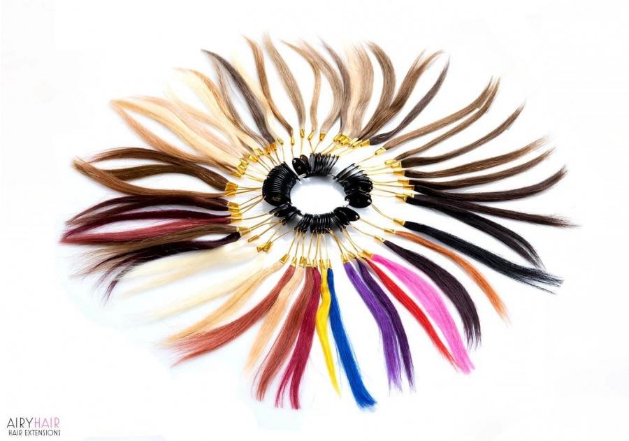 100% Ekte Hårfarge Ring (43 Farger)