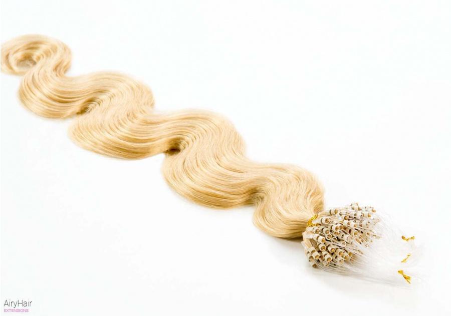 100% Ekte Hår - Remy Microringer Hair Extensions