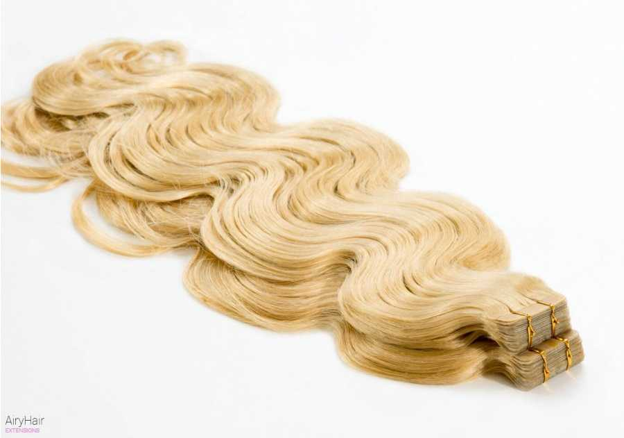 100% Ekte Hår - Remy Tape Hair Extensions